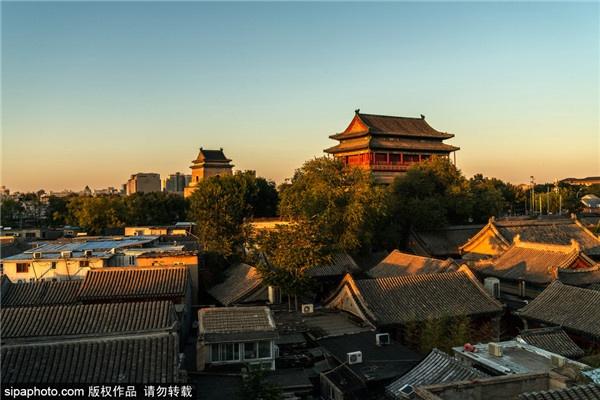 首屆北京網紅打卡地:北京鐘鼓樓
