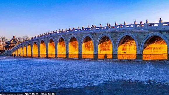 Un spectacle rare! La « Lumière dorée à travers le trou » de Pékin est magnifique!