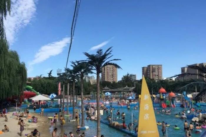 여름, 베이징 시내 물놀이, 워터파크 즐기기
