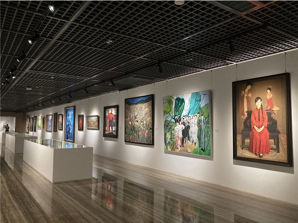 Exhibition celebrates national academy's new creation building