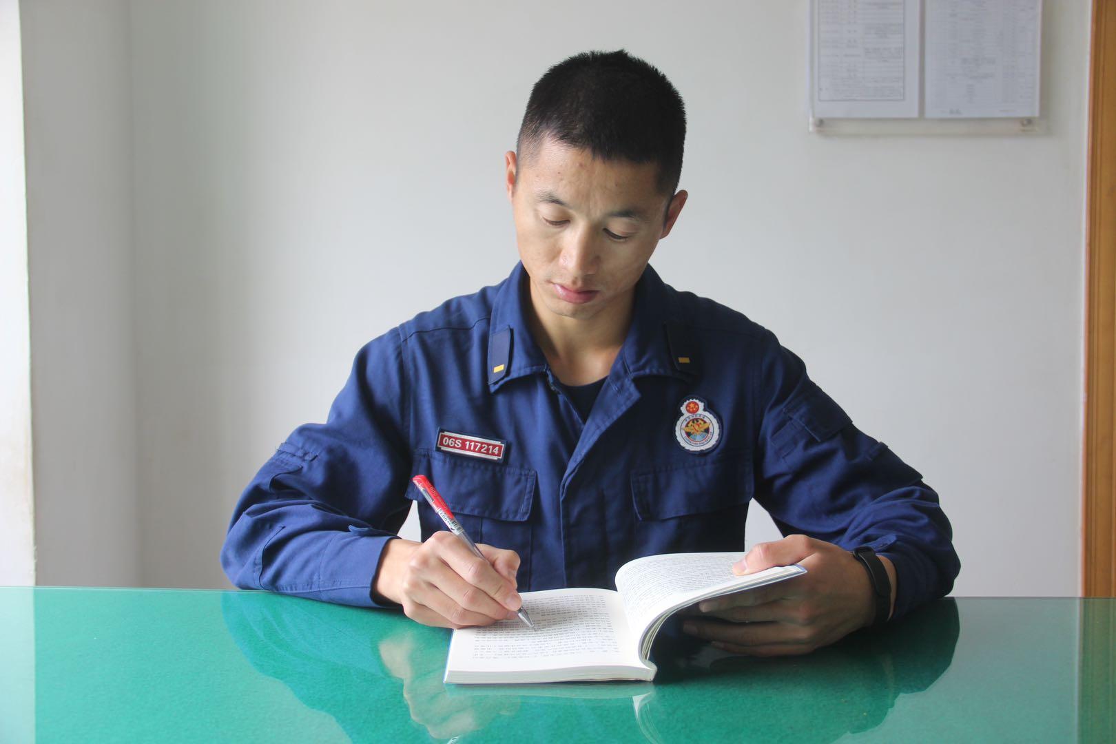五华区森林消防中队预消防士徐良