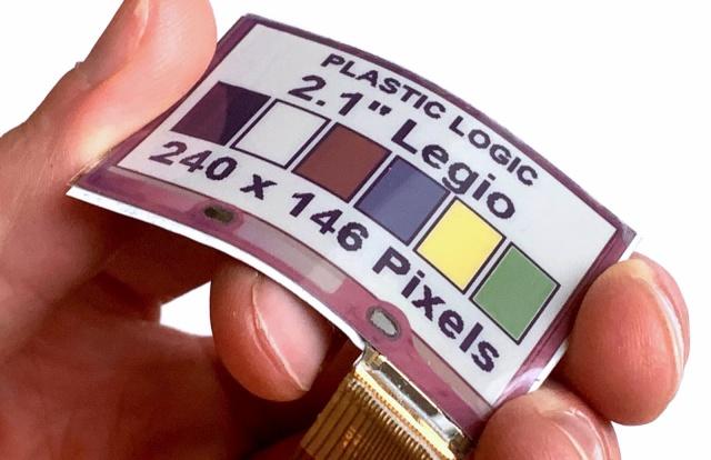 全球首款柔性全彩电子纸问世-适配可穿戴设备