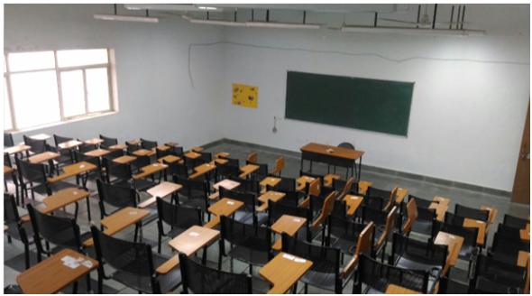 孟买大学孔子学院教室(资料图)