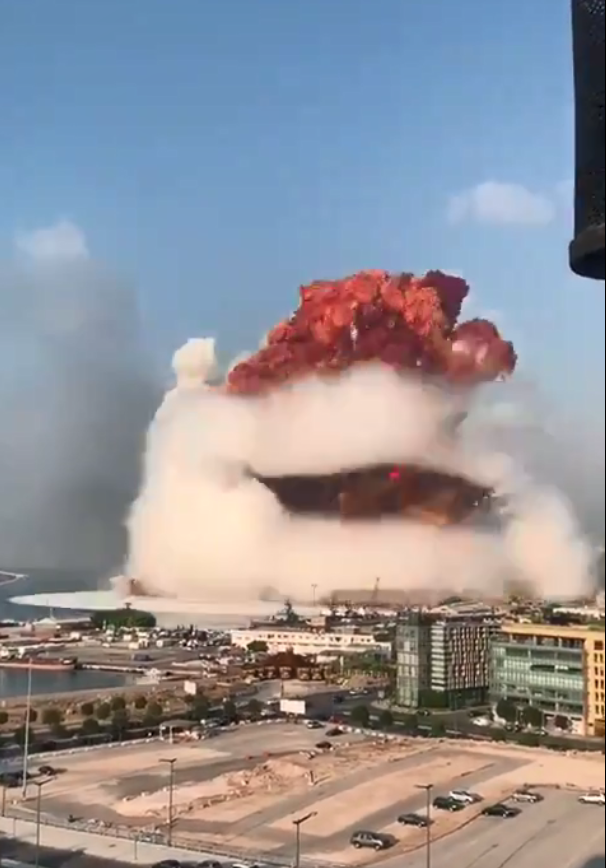 黎巴嫩贝鲁特港大爆炸,至少73人死亡3000多人受伤