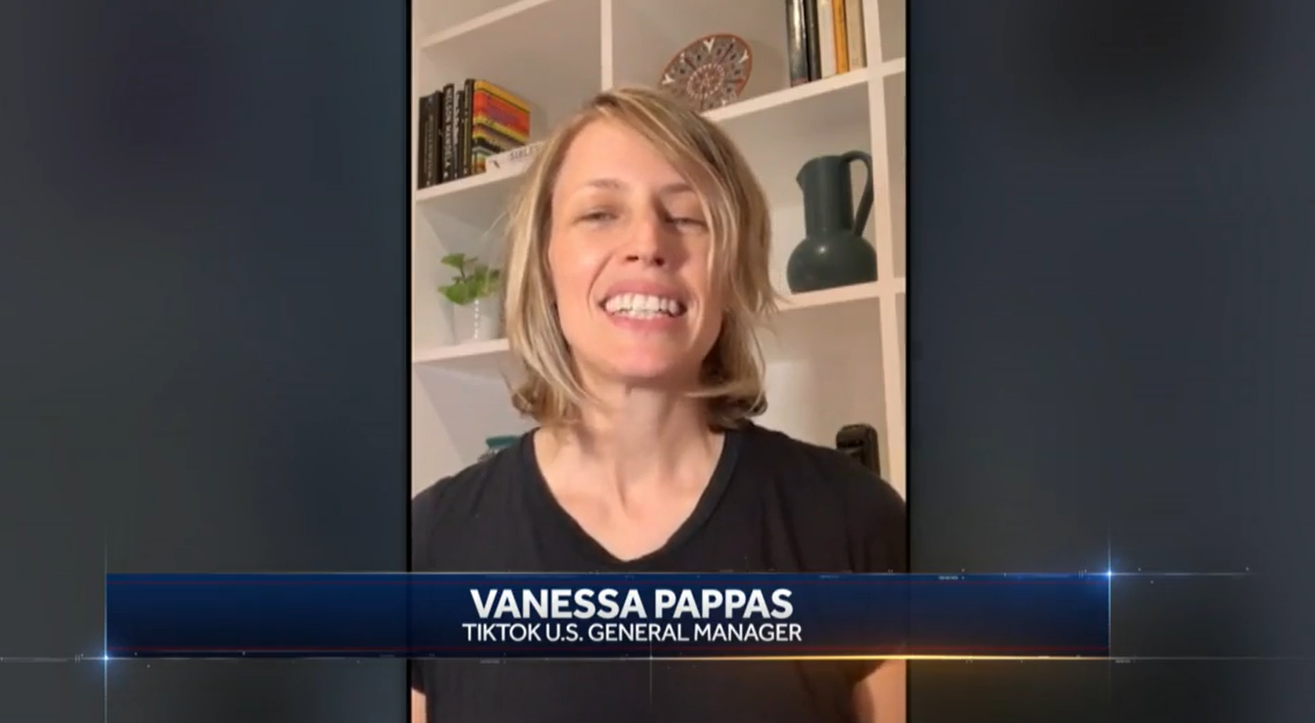 TikTok美国总经理瓦妮莎·帕帕斯