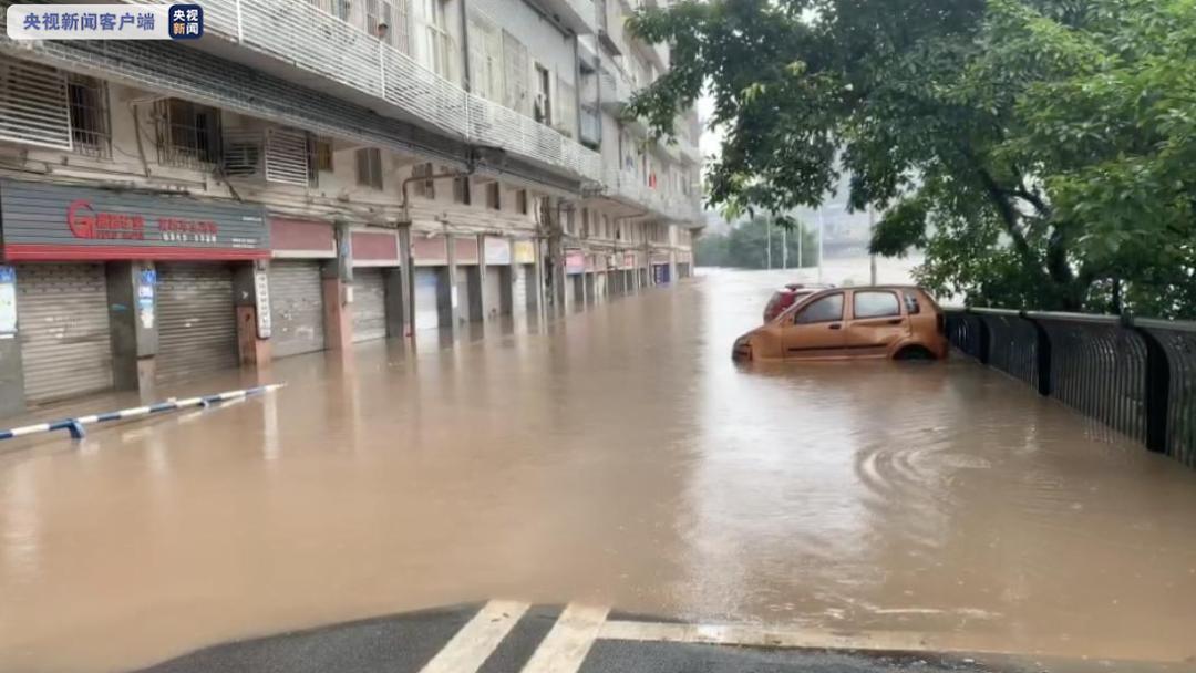 【重庆綦江迎1998年以来最大洪峰!大量商铺被淹,现场直击】图3