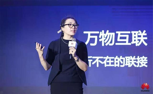 華為EBG中國區智慧城市業務總裁胡芳