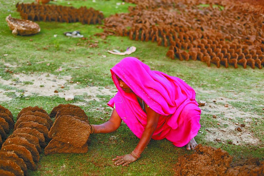 牛粪,印度人的灵魂伴侣