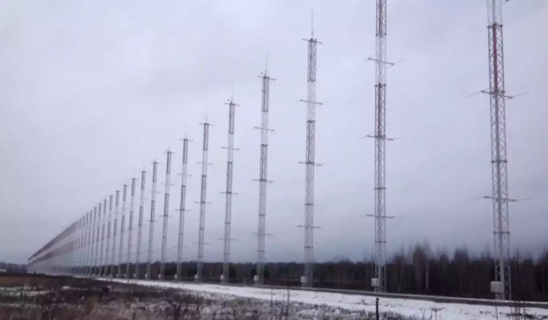 俄罗斯超视距探测雷达站天线阵列