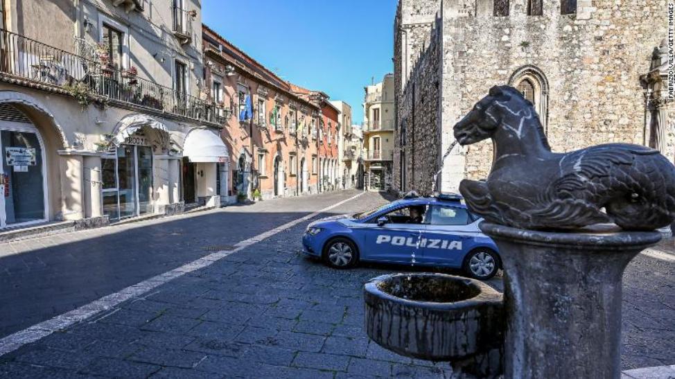意大利街头资料图,图源:CNN