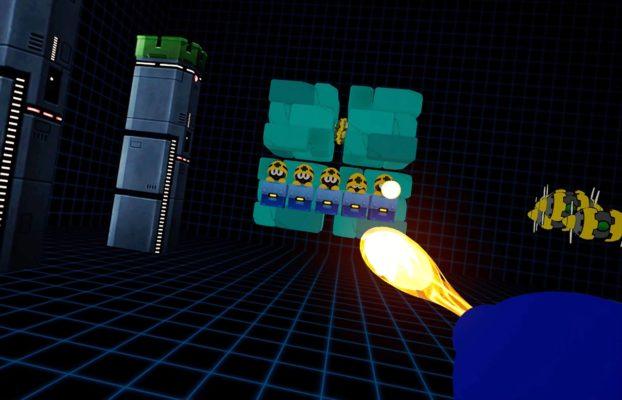 《洛克人》VR体验内容玩起来画面效果是这样的