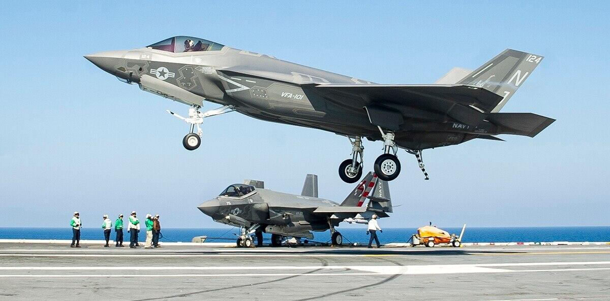 F-35舰载机才刚开始用 美国海军就着急研发第