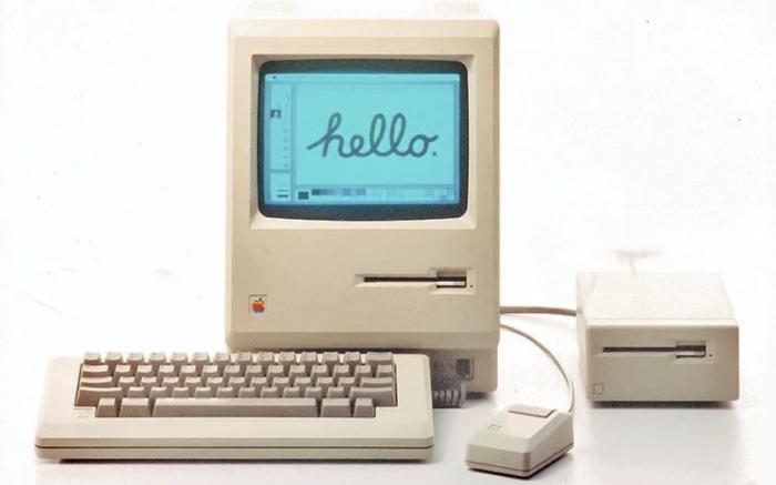 36年前史蒂夫·喬布斯推出了第一臺Macintosh電腦