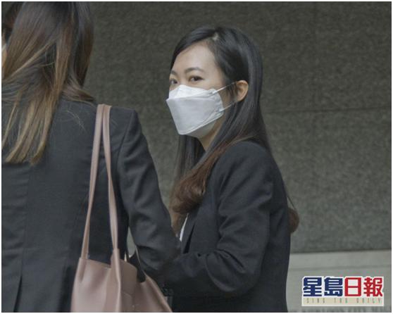郭丽芬袭警罪罪名成立(图片来源:香港《星岛日报》)