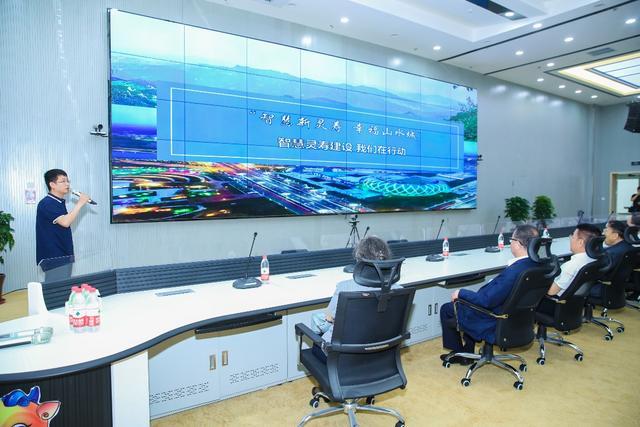 灵寿县智慧城市指挥大厅