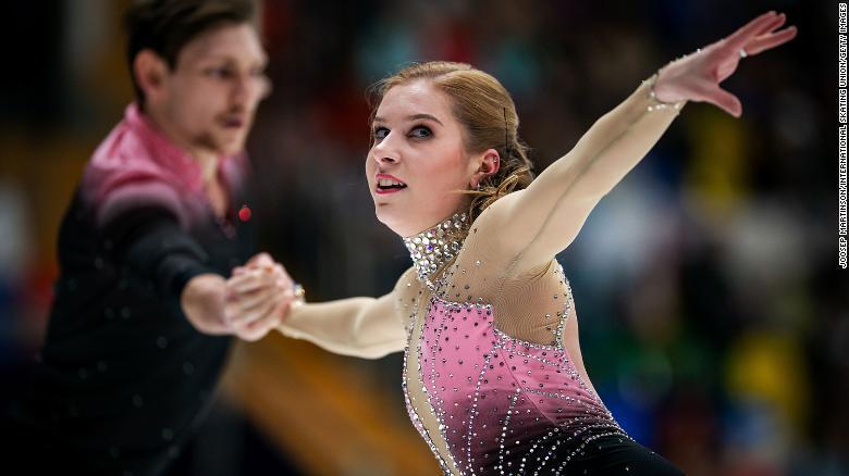 20岁俄罗斯裔澳大利亚滑冰运动