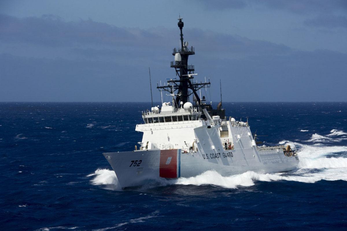 """美国""""斯特拉顿""""号海警船"""