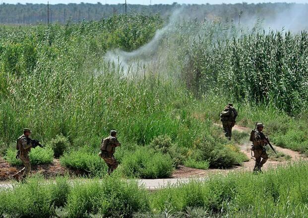"""伊拉克安全部队打击""""伊斯兰国"""""""