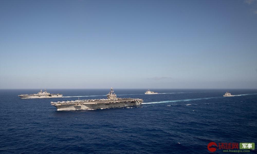 警惕!美军侦察机闯入南海上空 航母也正在逼近